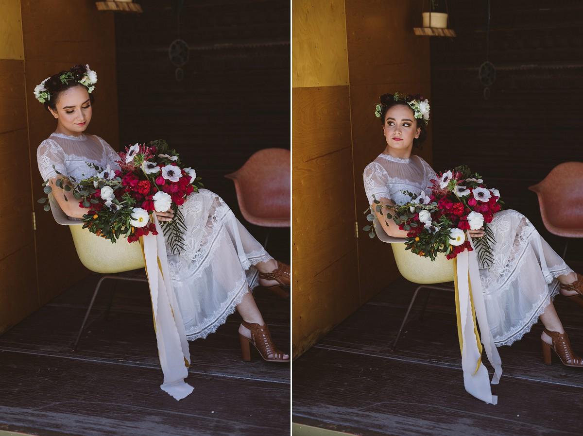 Gold Leaf Project Wedding